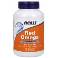 Red Omega 90 капсул NOW Foods