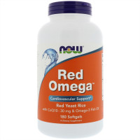 Red Omega 180 капсул NOW Foods