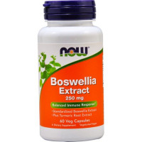 BOSWELLIA EXTRACT 250 мг 60 капсул NOW Foods