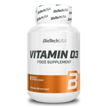 Витамин BioTechUSA Vitamin D3 (60 таблеток)