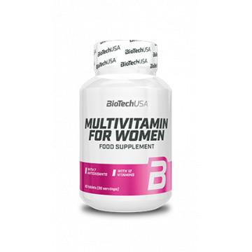 Витамины для женщин BioTechUSA MultiVitamin For Women (60 таблеток)