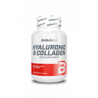 Hyaluronic & Collagen 30 капс. Biotech Nutrition