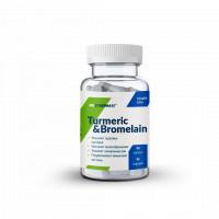 Turmeric&Bromelain 90 капсул CYBERMASS