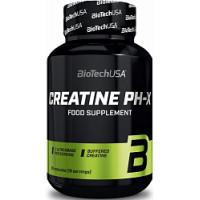 Creatine pH-X 90 капсул Biotech USA
