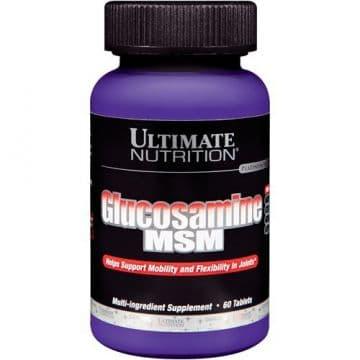 Препарат для укрепления связок и суставов Ultimate Nutrition Glucosamine MSM (60 шт.)