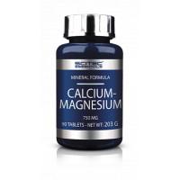 CALCIUM-MAGNESIUM 750 мг 100 таблеток Scitec Nutrition