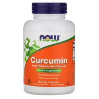 CURCUMIN EXTRACT 95% 665 мг 120 капсул NOW Foods
