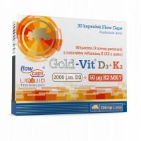 Gold-Vit D3+K2 30 капс. Olimp