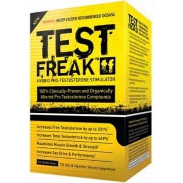 TEST FREAK 120 гибридных капсул (30-дневный цикл)