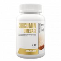Curcumin + Omega-3 60 капсул Maxler