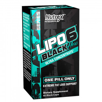 Lipo-6 black HERS ULTRA CONCENTRATE 60 капс. Nutrex