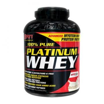 100% Pure Platinum Whey 2270 грамм (5LB) SAN