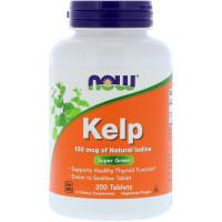 Kelp (йод) 150 мг NOW Foods