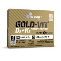 Gold-Vit D3+K2 60 капс. Sport Edition Olimp