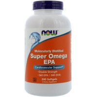 Super Omega EPA 1200 мг 240 гелевых капсул Now Foods
