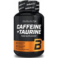 Caffeine+taurine 60 капсул Biotech