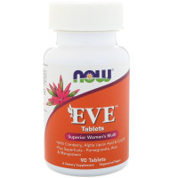 EVE Superior Womens Multi 90 таб. NOW Foods