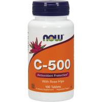 Vitamin C-500 NOW (100 таб) NOW Foods