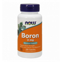 Boron 3 мг 100 капсул NOW Foods